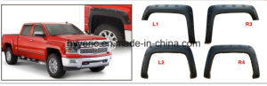 High Quality ABS Fender Flare for Chevy Silverado 69.3 Inch Fleetside Bed 2014