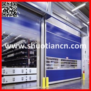 High Speed Rolling PVC Interior Automatic Door (ST-001) pictures & photos