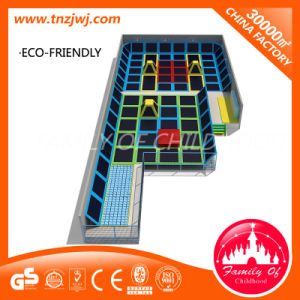 New Designing LLDPE Trampoline Park Trampoline Fitness Manufacturer pictures & photos