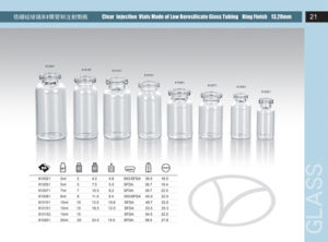 Tubular Glass Vial pictures & photos