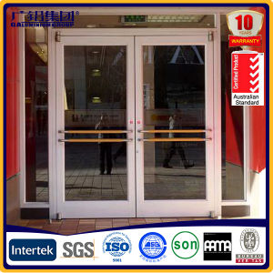 Aluminium Big Frame Spring Door for Shop and Restaurant pictures & photos