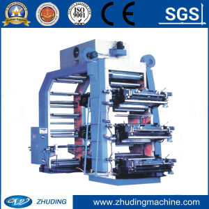 Plastic Film Printing Machine with 4 Colors pictures & photos