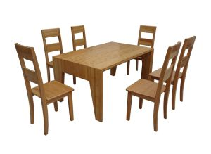Bamboo Table and Chair Set (JD-FN056)
