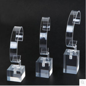 Acrylic Watches Clocks C-Ring Base Display Stand