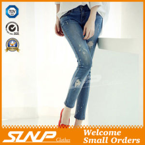 Good Quality Fitness Fashion Design Jean Pants Clothes