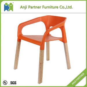 Modern Unadjustable Living Room Chair with PP Plastic Seat and Back (Nalgae) pictures & photos
