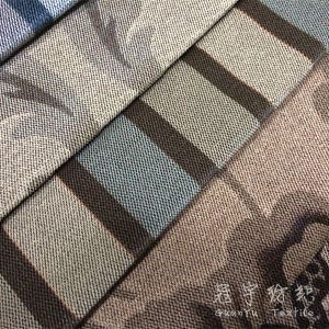 Printed Velour Two-Tone Color Fabric for Sofa and Cushion Covers pictures & photos