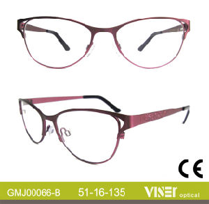 Fashion Metal Optical Glasses, Optical Frames, Eyeglasses (66-A) pictures & photos