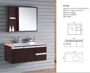 Hot Reliable Modern Bathroom Cabinet with Mirror pictures & photos