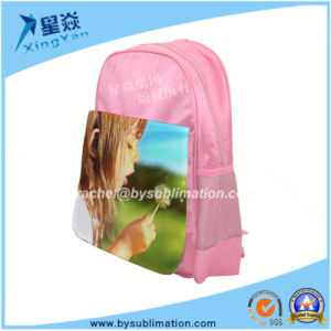 Sublimation Bags Cavas Kids Backpack pictures & photos