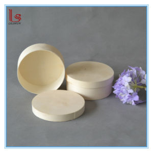 Cheap Round Customized OEM Soft Wooden Simple Bark Case pictures & photos