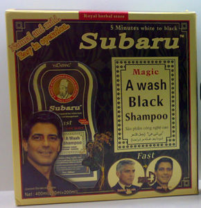 Subaru Hair Black Shampoo (Subaru001)