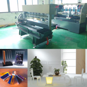 Worldwide Popular Acrylic Polishing Machine for Angle Cutting pictures & photos