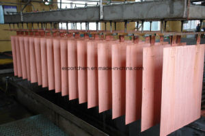 Brass Material Plate Shape Electrical Copper Cathode pictures & photos