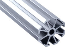 Hot Sell Small Hole Upright Aluminum Extrusion pictures & photos