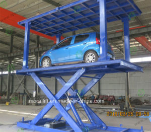 Underground Parking Auto Lift with CE pictures & photos