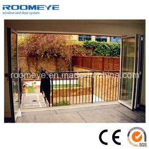 Competitive Price Bifold Doors Interior Floding Door with Aluminium Frame pictures & photos