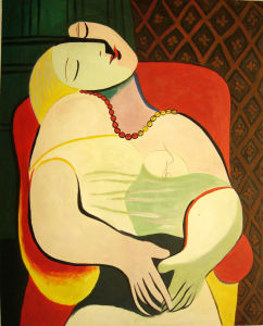 The Dream - Pablo Picasso Oil Painting pictures & photos