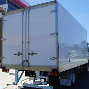 Fiberglass Refrigerated Truck Body with Movable Partition pictures & photos