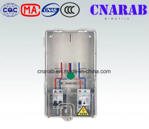 Single Phase Electric Meter Box Transparent Case, IP54 Electronic Meter Box pictures & photos