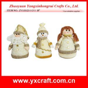 Christmas Decoration (ZY11S121-1-2-3 10′′) Santa & Snowman & Angel pictures & photos