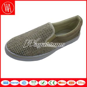 Low Leisure Flat Women Canvas Casual Shoes pictures & photos