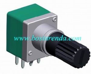 Potentiometer with Plastic Shaft for Mixer, Amplifier, Audio Equipment - RP0934GO pictures & photos
