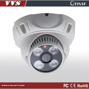 Indoor Plastic IP Dome Camera with 1.0 Megapixel