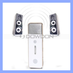 Sound Mixer Karaoke Microphone for Mobile Phone MP3 MP4 iPad Computer (KM-02) pictures & photos