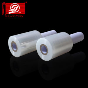 SGS Certificate Sy Packaging New Raw Materials LLDPE Stretch Pallet Wrapping Film pictures & photos