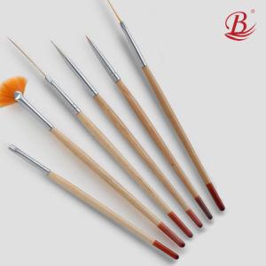 Professional Student Use Nail Art Brush Set 6PCS (Su-5)