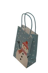 Christmas Paper Bag, Paper Gift Bag, Christmas Shopping Paper Bag, Kraft Paper Print Bag pictures & photos