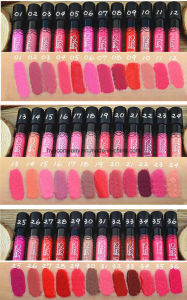 Menow 36 Colors Lip Gloss Matte Waterproof Long Lasting Liquid Lipstick pictures & photos