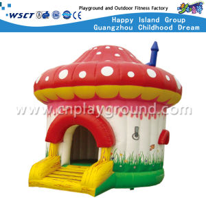 Cute Mushroom Inflatable Bouncy Castle for Children (HD-9809) pictures & photos