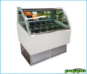 High Quality Ice Cream Display Showcase