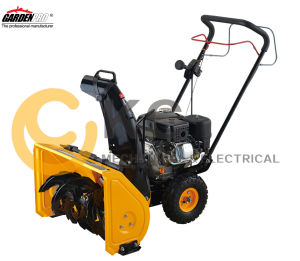 "Gardenpro (21"") 163cc Two-Stage Manul Start Snow Thrower Blower (KCM21A) pictures & photos"