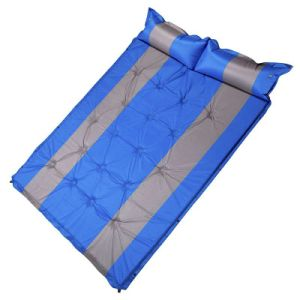 Outdoor Inflatable Air Mattress with Inflatable Pillow pictures & photos