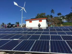 Anhua off Grid System with Solar Module Wind Generator Hybrid Supply pictures & photos
