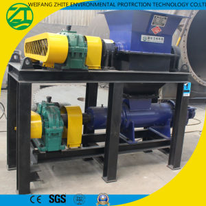 Factory Outlets Single Shaft Diseased Animal Body/Foam/Tire/Wood Shredder pictures & photos