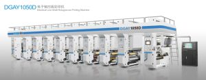2015 New Model Electronic Shaft 260m/Min Speed Air Energy Heating Rotogravure Printing Machine pictures & photos