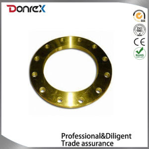 Carbon Steel Plate Flange, Comes in Sub-Polishing Lacquer, Made of Q235 Material pictures & photos