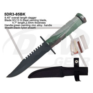 """8.45"""" Overall Zinc Alloy Handle Dagger with Brushed Blade: 5dr3-85bk pictures & photos"""
