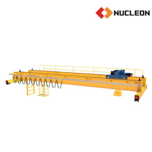 Nucleon Workshop Specialized 4 Wheel Double Girder Overhead Crane 7.5 Ton pictures & photos