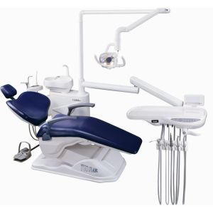 Lk-A12 Low Moounted PU Leather Dental Unit pictures & photos