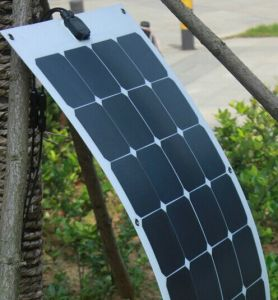 18V 100W ETFE Flexible Soft Solar Panel with Sunpower Cells pictures & photos