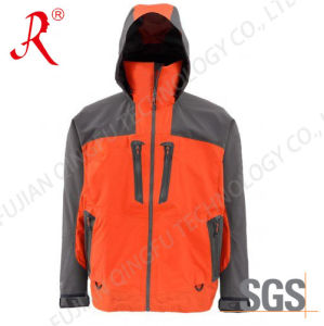 3-Layer Waterproof Fishing Tackle Wading Fishing Jacket (QF-1851) pictures & photos