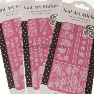 3D Nail Art Lace Accessories Beauty Decoration Stickers (NPP04)