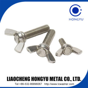DIN933 Stainless Steel Hex Head Bolts M3-M56 pictures & photos