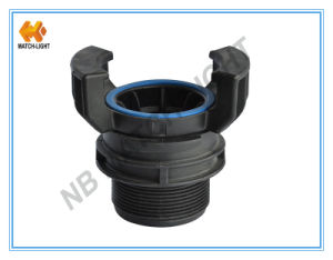 Polypropylene PP Male Bsp Thread Guillemin Coupling pictures & photos