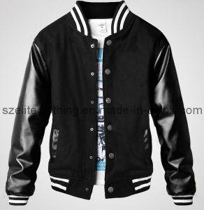 Wholesale Stylish PU Leather Jacket (ELTSJJ-26) pictures & photos